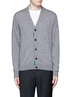 PS by Paul Smith Merino wool cardigan