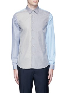 PS by Paul Smith Multi stripe cotton shirt