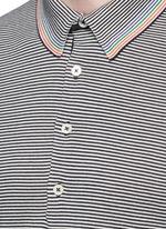 Multi stripe polo shirt