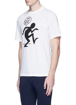 'One Way' print T-shirt