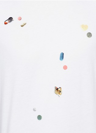 PS by Paul Smith - 'Tablet' print cotton T-shirt