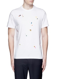 PS by Paul Smith 'Tablet' print cotton T-shirt