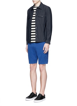 Figure View - Click To Enlarge - PS by Paul Smith - Standard fit cotton chino shorts