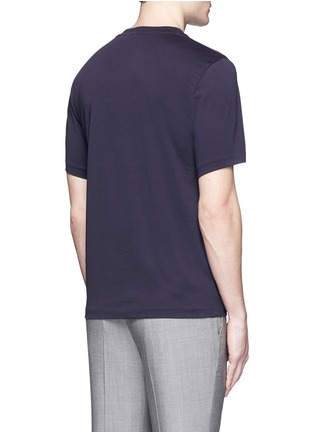 Back View - Click To Enlarge - PS by Paul Smith - Logo print T-shirt