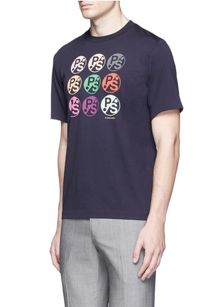 Front View - Click To Enlarge - PS by Paul Smith - Logo print T-shirt