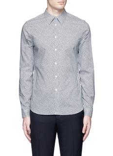 PS by Paul Smith'Mini Heart' print cotton poplin shirt