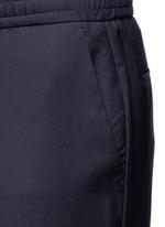 Slim fit tailored wool sweatpants