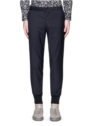 Main View - Click To Enlarge - PS by Paul Smith - Slim fit tailored wool sweatpants