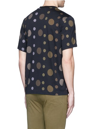 Back View - Click To Enlarge - PS by Paul Smith - 'Large Dot' print cotton T-shirt