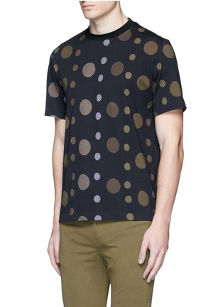 Front View - Click To Enlarge - PS by Paul Smith - 'Large Dot' print cotton T-shirt