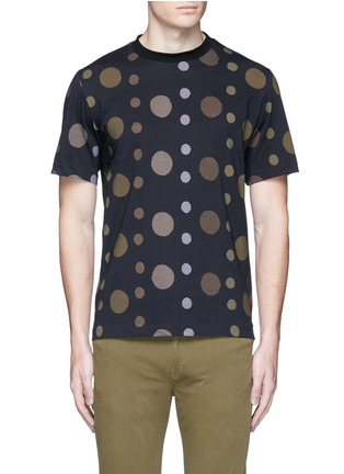 Main View - Click To Enlarge - PS by Paul Smith - 'Large Dot' print cotton T-shirt