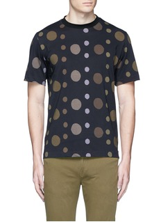 PS by Paul Smith'Large Dot' print cotton T-shirt