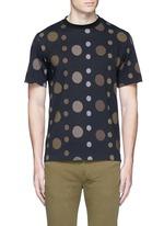 'Large Dot' print cotton T-shirt