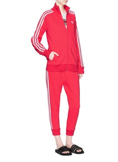 Adidas 3-Stripes cropped track pants