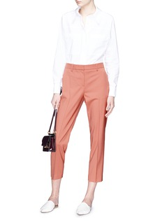 Theory 'Treeca 2' cropped wool pants