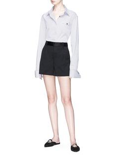 Theory 'Hudson' twill shorts