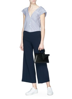 Theory Flared crepe culottes