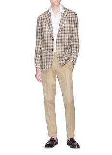 Ring Jacket Linen twill pants