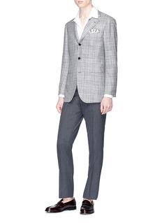 Ring Jacket Wool slim fit pants