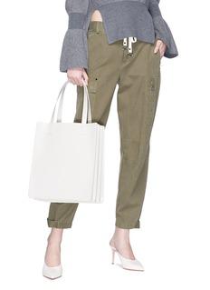 Kara 'Multi Pinch' washer stud leather tote