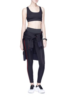 Koral 'Tone' stripe outseam performance leggings
