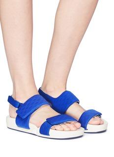 Figs By Figueroa 'Figulous' diamond print slingback sandals