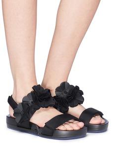 Figs By Figueroa 'Figulous' 3D floral slingback sandals
