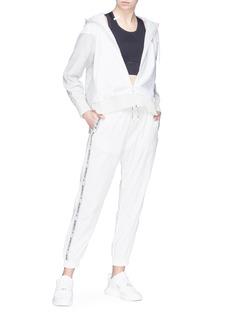 C-CLIQUE 'Annunziare' logo stripe outseam jogging pants