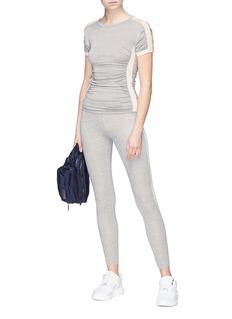 C-CLIQUE 'Annuvolare' stripe outseam performance leggings