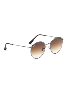Ray-Ban 'RB3447' metal round sunglasses