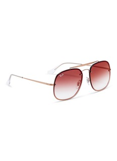 Ray-Ban 'Blaze The General' metal mirror aviator sunglasses