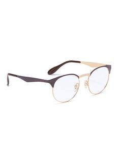 Ray-Ban 'RX6406' metal round optical glasses