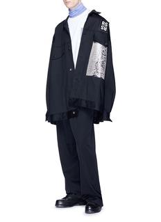 Raf Simons 'Joy Division' turtleneck long sleeve T-shirt