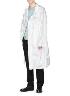 Mackintosh oversize立领雨衣
