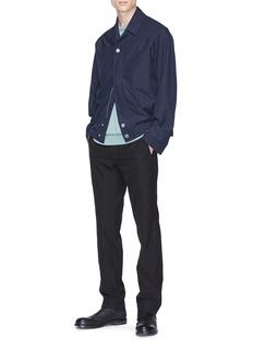 Mackintosh 0002 Wool-cotton shirt jacket