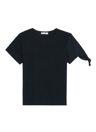 Main View - Click To Enlarge - JW Anderson - Asymmetric knot sleeve T-shirt