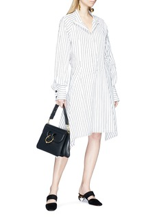 JW Anderson Stripe patchwork shirt dress