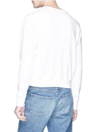 - JW Anderson - Logo embroidered sweatshirt