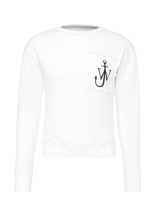 Main View - Click To Enlarge - JW Anderson - Logo embroidered sweatshirt