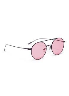 Stephane + Christian 'Lille' metal round aviator sunglasses