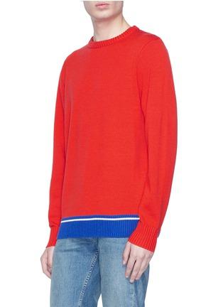 Detail View - Click To Enlarge - Egle Zvirblyte x Lane Crawford - Graphic intarsia unisex wool sweater