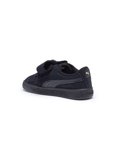 Puma 'Suede Heart' bow tie toddler sneakers