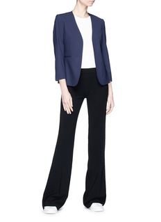 Theory Flared crepe pants