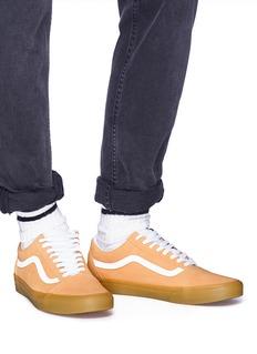 Vans 'Double Light Gum Old Skool' suede sneakers