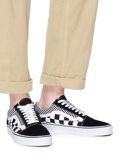 Vans 'Old Skool' mix check print sneakers