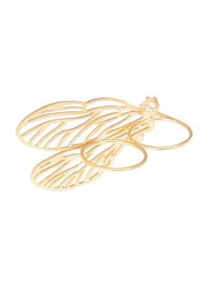 Alex Monroe 'Double Dragonfly Wing' knuckle ring