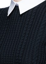 'Gila' cable knit sweater