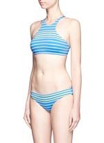 'Giselle' stripe hipster bikini bottoms
