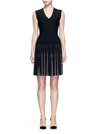 Alaïa - 'Seguidille' plissé pleat knit dress