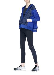 Nike Layered back colourblock hooded track jacket